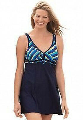 7701   PLUS SIZE 1 Pc Multi Color Swimsuit Assorted Sizes Available