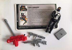 Hasbro-G-I-Joe-1992-Battle-Corps-Cobra-Commander-Supreme-Leader-w-File-Card