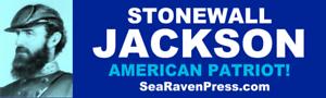 Stonewall-Jackson-American-Patriot-High-Quality-Bumper-Sticker-11-5-034-x-3-034