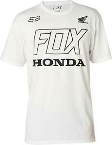 Fox Racing Honda Premium T-Shirt Short Sleeve MX Motocross Graphic Tee Mens