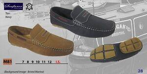 Seemann Deck Schuhe Slipper Stil Leder loathers