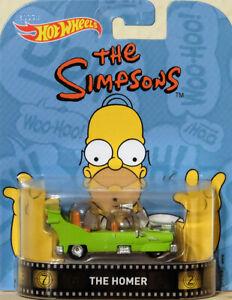 Hot Wheels 1:64 Retro Entertainment la Homer Simpsons