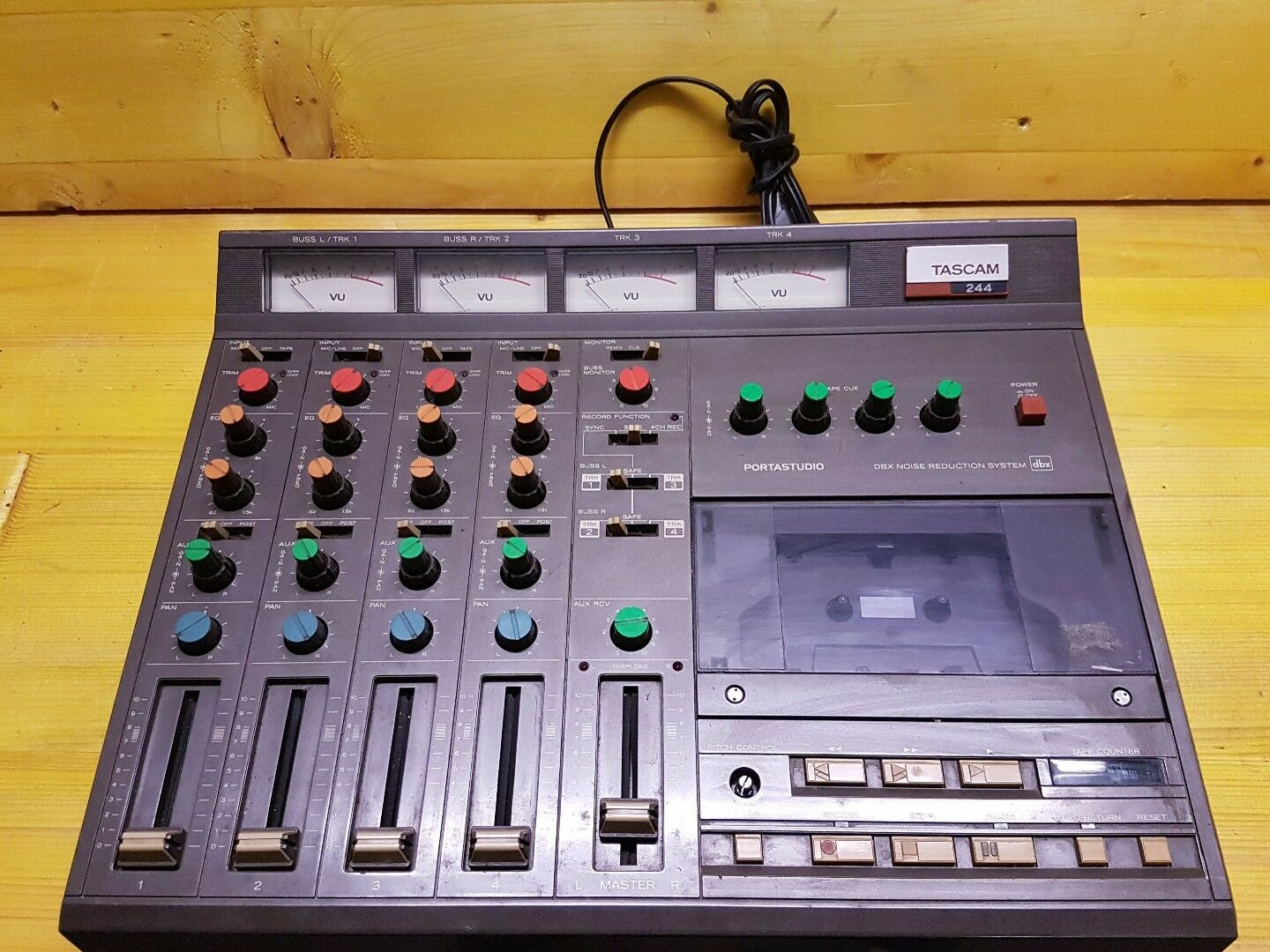 TASCAM PORTASTUDIO 244 TAPE RECORDER