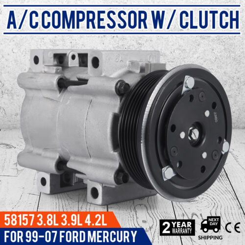 SET AC Compressor for 04-07 Ford Freestar Mercury Monterey 99-03 Windstar Great
