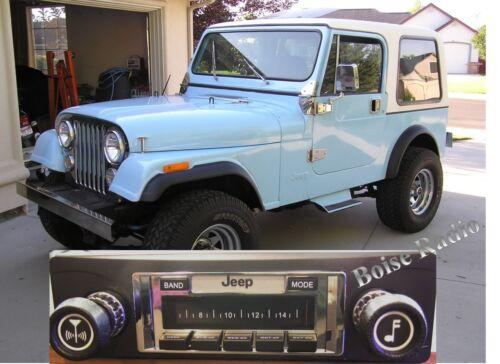 /'78-86 Jeep CJ NEW High Power 300 watt Stereo Radio iPod Control USB 8 7 CJ-5