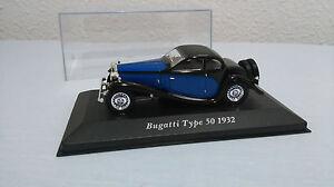 BUGATTI-TYPE-50-1932-1-43-NUEVO-NEW-MINT-IN-BOX