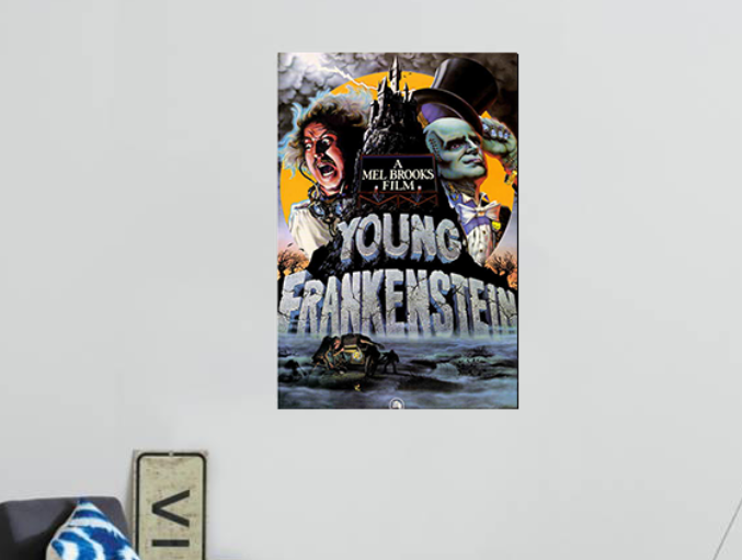 Young Frankenstein METAL Poster Classic Movie Art Print Plaque Gift