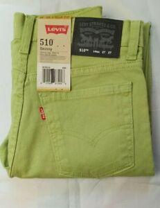 Levi-s-Boy-s-510-Skinny-Stretch-Slim-Fit-Jeans-Size-14-amp-16-NWT
