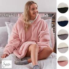 Sienna Hoodie Blanket Oversized Ultra Plush Sherpa Giant Big Hooded Sweatshirt