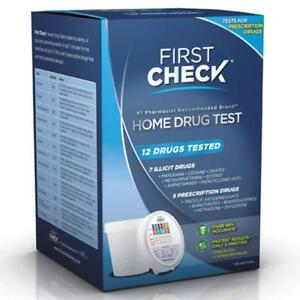 First Check Home Drug Test 12 Drugs 1box 643281069122s2791