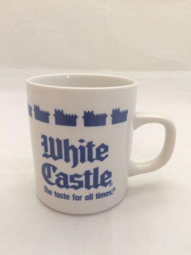WHITE CASTLE COFFEE CUP  BEVERAGE MUG 1990 China