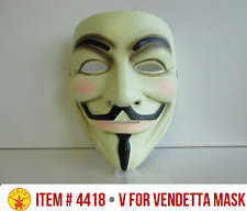 V FOR VENDETTA OFFICIAL LICENSED GUY FAWKES OCCUPY ANONYMOUS COSTUME MASK