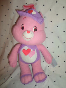 "Care Bears Hopeful Heart Bear 13"" Plush Soft Toy Stuffed Animal"