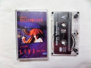 ANDREAS VOLLENWEIDER FRIENDS - LIVE 1982-94 (MUST-HAVE) !!!MC Cassette - KRAJENKA, PL, Polska - ANDREAS VOLLENWEIDER FRIENDS - LIVE 1982-94 (MUST-HAVE) !!!MC Cassette - KRAJENKA, PL, Polska