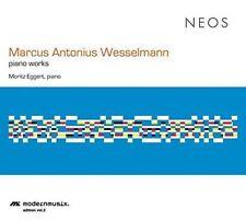MARCUS ANTONIUS WESSELMANN: PIANO WORKS NEW CD