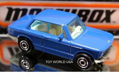 #50 /'69 BMW 2002 Blue Unboxed Matchbox 1-100