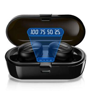 XG-13-Sport-Ture-Senza-Fili-di-Bluetooth-5-0-TWS-Cuffia-del-Trasduttore