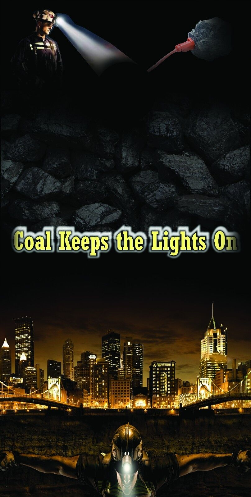 Coal Keeps the Lights On  Cornhole Bean Bag Toss 3M Vinyl Wrap Set  hot limited edition