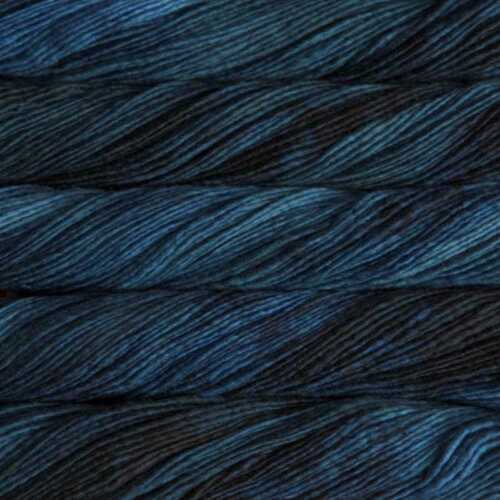 Malabrigo 100/% merino yarn Azul Profundo :Worsted #150: