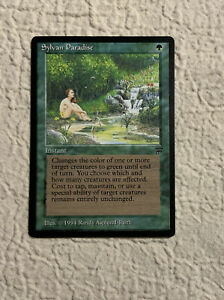 Sylvan-Paradise-NM-Legends-1994-Original-Mtg-Magic-the-Gathering
