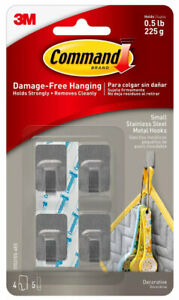3M-Command-Small-Stainless-Steel-Metal-Decorative-Hooks-Damage-Free-Hanging