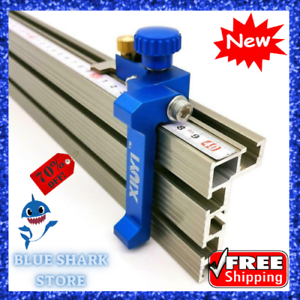 T Tracks Slot Miter Gauge Fence Connector Aluminum Alloy Woodworking Router Tool
