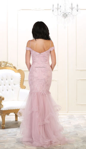 PAGEANT SPECIAL OCCASION FORMAL PROM EVENING GALA MERMAID DRESS RED CARPET GOWN