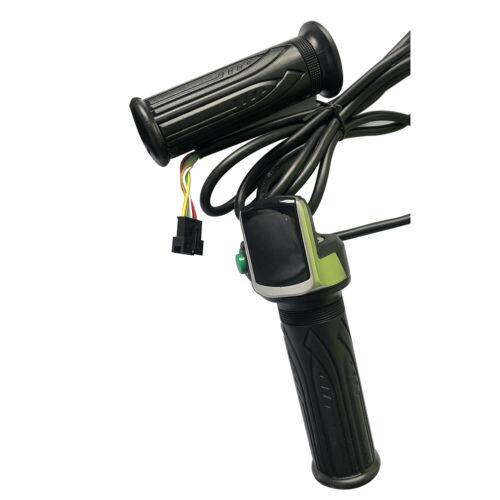 Universal 36//48V Elektroroller Drossel Griff Lenker LED Display Meter Par