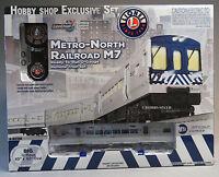 Lionel Metro North Lionchief M7 Rr Set Subway Complete O Gauge Train Nyc 6-82188