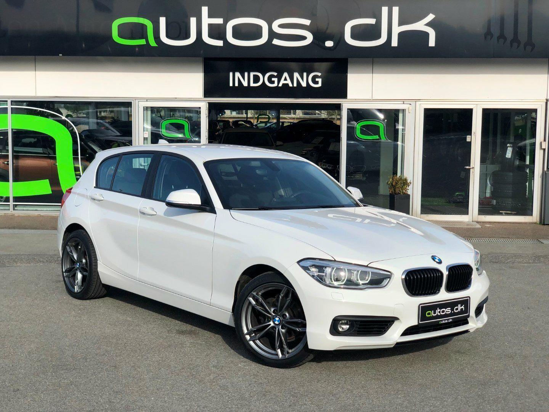 BMW 118d 2,0  5d - 199.000 kr.