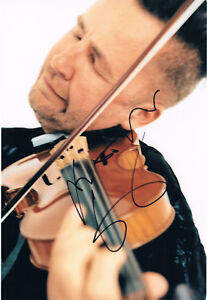 Details about Nigel Kennedy 1956- genuine autograph 8
