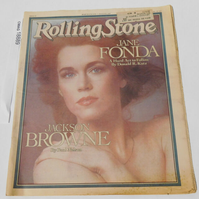 Jane Fonda Jackson Browne ROLLING STONE MAGAZINE march 9 1978 Issue 260