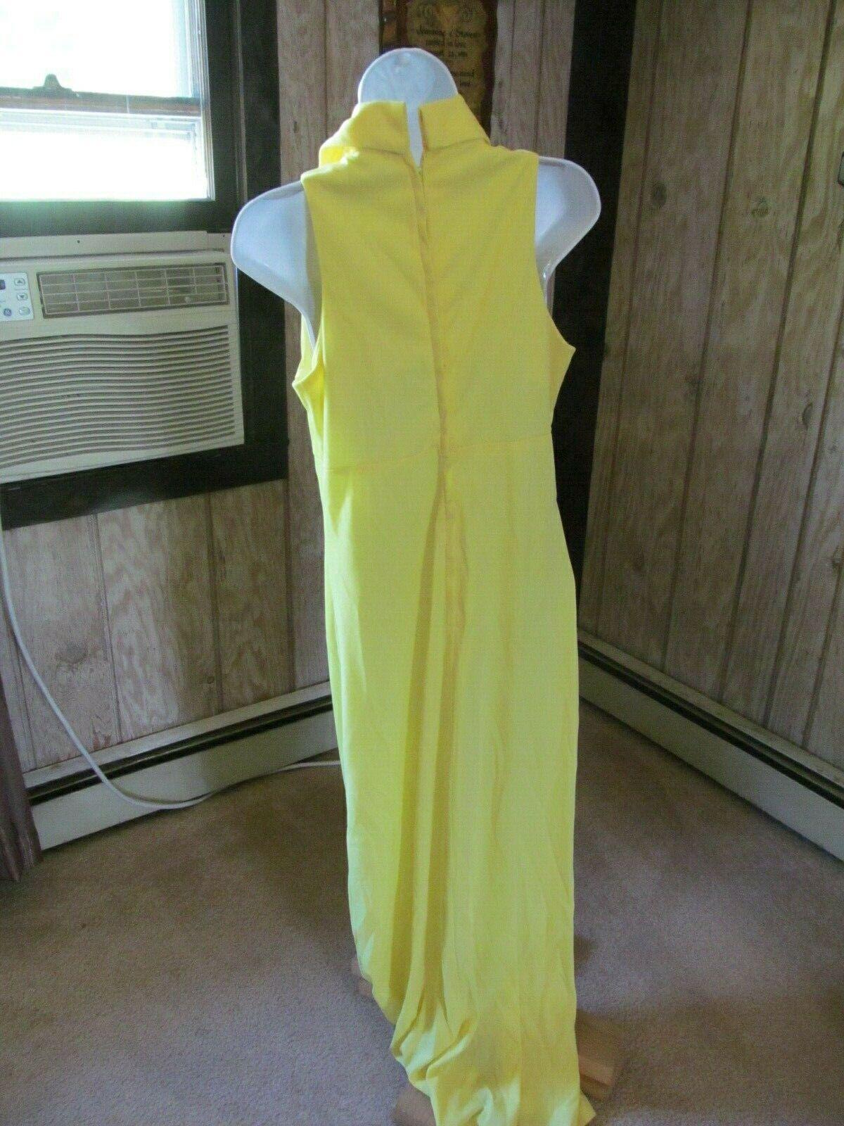 Vintage Yellow Gown or Marilyn Monroe Halloween C… - image 5