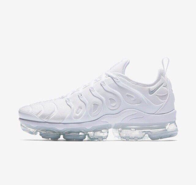 Nike Nike Nike Air Vapormax Plus Triple bianca Pure Platinum 924453-100 w Receipt Dimensione 8-13 72a2bb