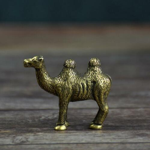 Chinese Pure brass camel small statue