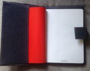 GUESS-Notbook-Jeans-Optik-mit-blanko-Seiten-A5-NEU