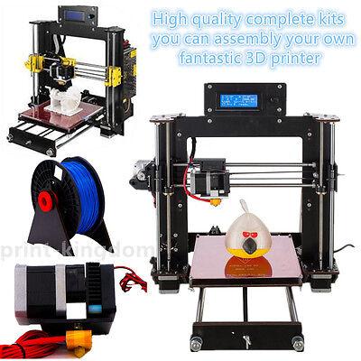 Duty free! Reprap DIY Prusa I3 Pro B Impresora 3D MK8 LCD 3D printer