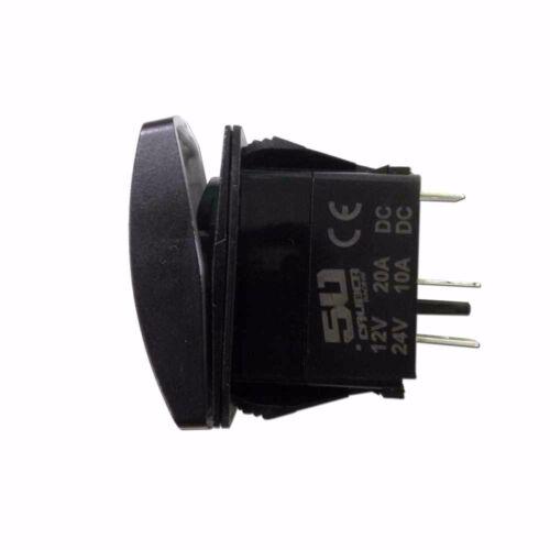 Illuminated Rocker Switch Rear Lights UTV RZR Teryx Maverick X3 YXZ1000R Green