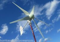 Hurricane Mppt Xp Wind Turbine Generator Kit 1000 Watt 48 Volt Max 1500 Watts