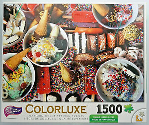 Ice Cream Bars 1000 Piece Puzzle White Mountain Puzzles