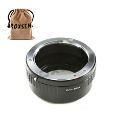 Contax Yashica C/Y CY lens to Sony E mount adapter NEX-7 5T A6000 A7 A7R A5100