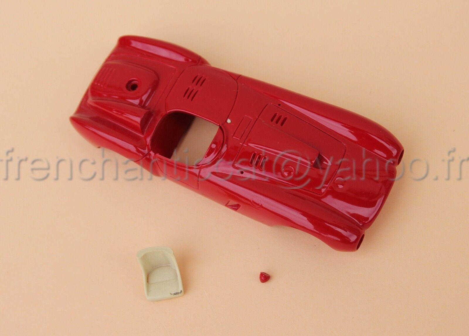 KP Voiture Ferrari 375 plus 1954 Le mans coque 1 43 Heco miniatures Château