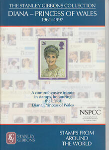Diana-Princess-of-Wales-1961-1997-The-Stanley-Gibbons-Collection-NEW