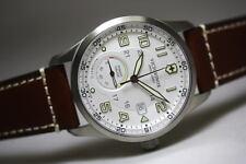 NIB! Victorinox Swiss Army Airboss White Dial Power Gauge Men's Watch - 241576