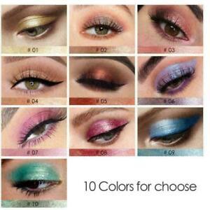 Waterproof-Shiny-Eyeshadow-Glitter-Liquid-Eyeliner-neu-Makeup-Pen-Eye-Liner-X6B8
