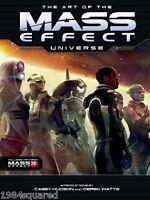 Art Of The Mass Effect Universe Hardcover Art Book Bioware Trilogy Hc Mint