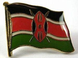 Kenia-Flaggen-Pin-Anstecker-1-5-cm-Kenya-Neu-mit-Druckverschluss