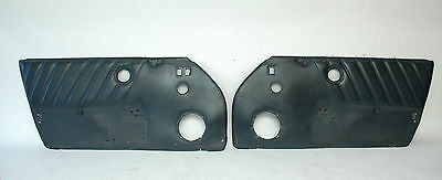 Porsche 911 Door Panels Blue Leather 91155593150kz3