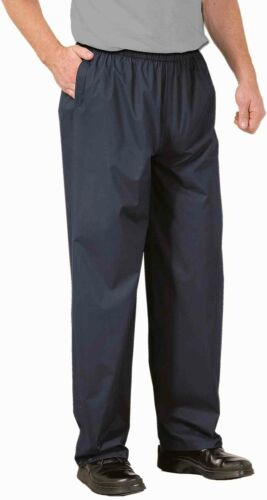 Portwest S536 Ayr Mens Rain Over Trousers Waterproof Unlined Overpants Workwear