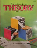 Level 3 Bastien Piano Basics Theory Wp208 Kjos
